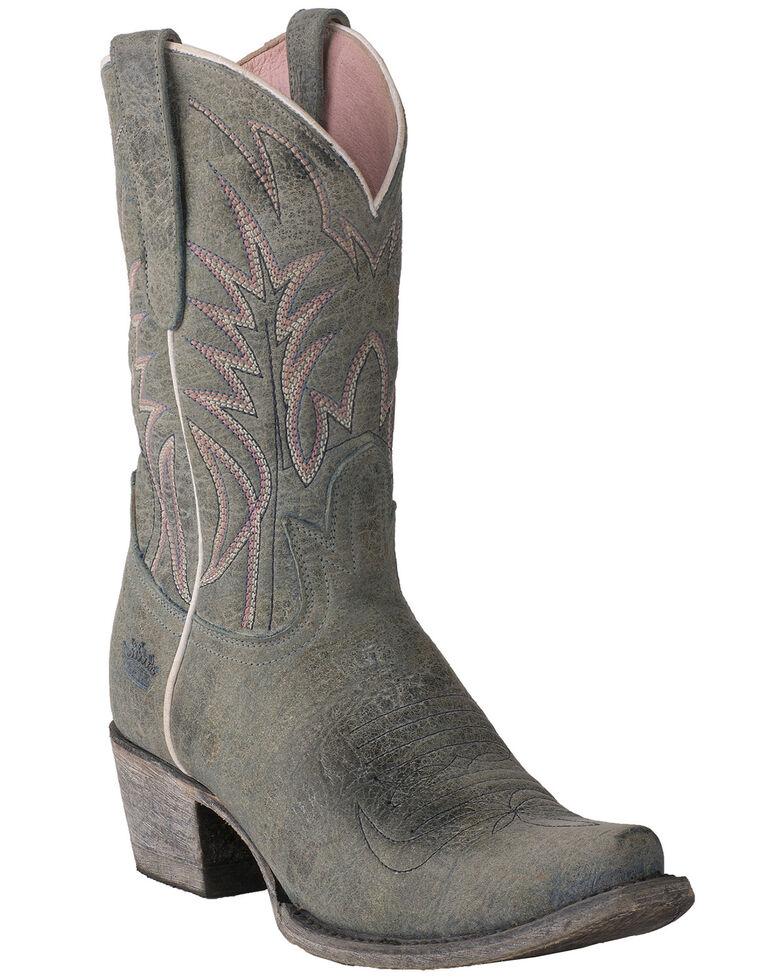 Junk Gypsy by Lane Women's Dirt Road Dreamer Western Boots - Snip Toe, Blue, hi-res