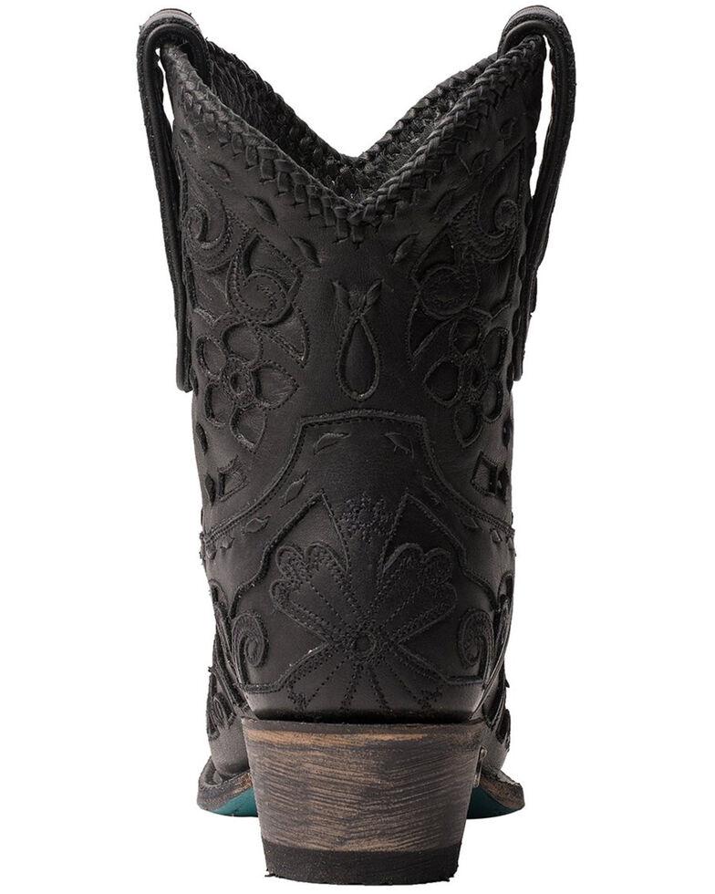 Lane Women's Robin Western Booties - Snip Toe, Black, hi-res