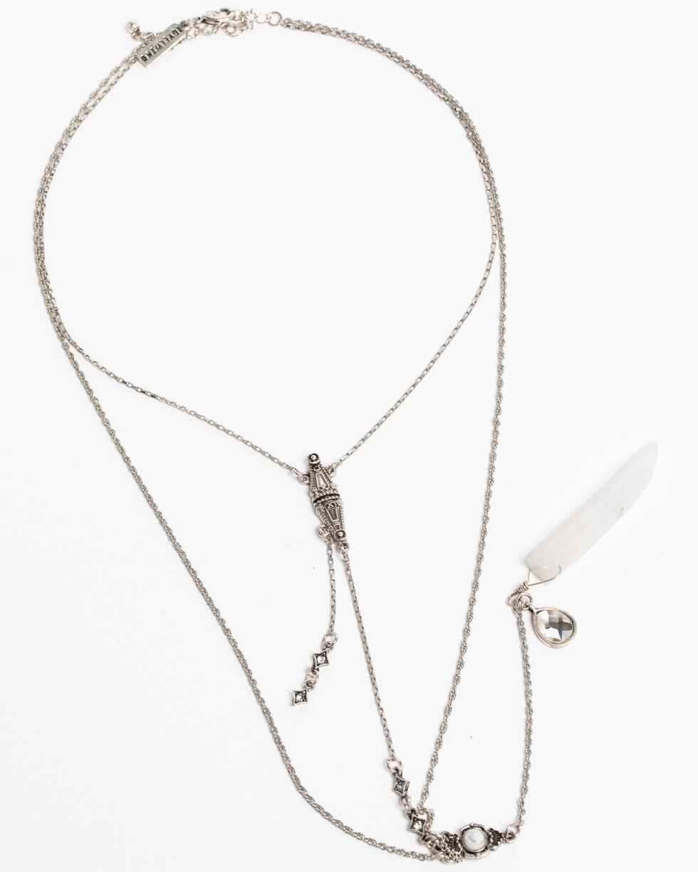 Idyllwind Women's Riding Rebels Layered Necklace, Silver, hi-res