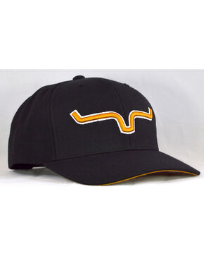 Kimes Ranch Men's Gold Standard Cap , Black, hi-res