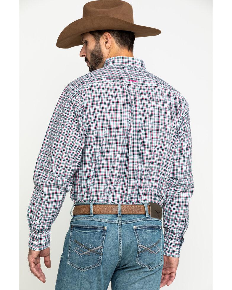 Ariat Men's Kermit Plaid Long Sleeve Western Shirt - Tall , Multi, hi-res