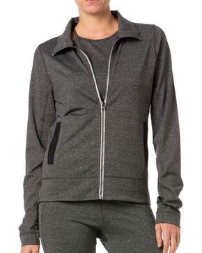 Miss Me Women's Double Zippered Jacket, Grey, hi-res