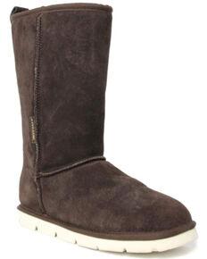 Superlamb Men's Argali Ram Western Boots - Round Toe, Chocolate, hi-res