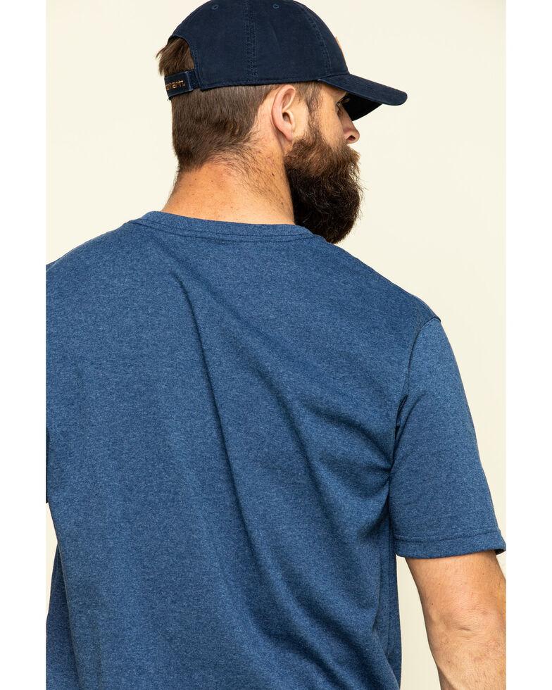 Carhartt Signature Logo Shirt Sleeve Shirt - Big & Tall, Indigo, hi-res