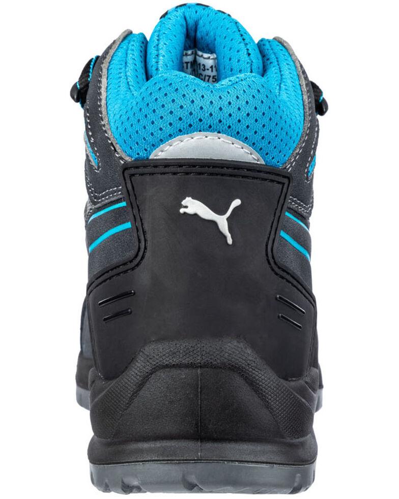Puma Women's Beryll Mid Work Shoes - Steel Toe, Grey, hi-res