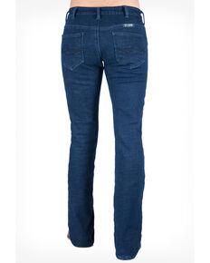 Cowgirl Tuff Women's Tuff Winter Jeans, Blue, hi-res