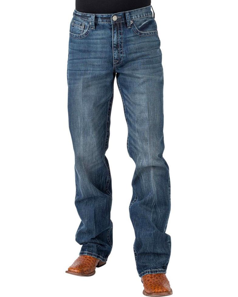 Tin Haul Men's Regular Joe Fit Jeans - Boot Cut, Indigo, hi-res