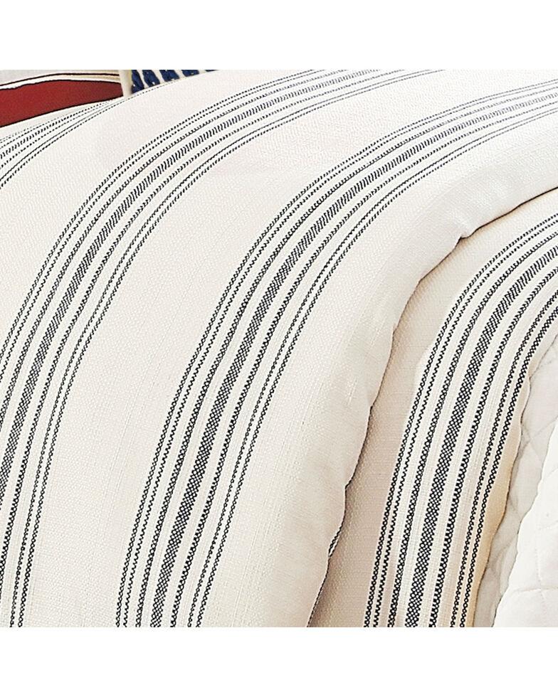 HiEnd Accents Prescott Navy Stripe Duvet - Super King, Navy, hi-res