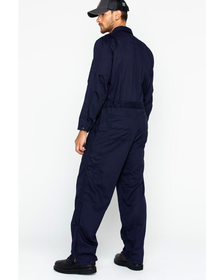 93167aa08ae6 Carhartt Men s Navy Flame-Resistant Deluxe Coveralls - Country Outfitter