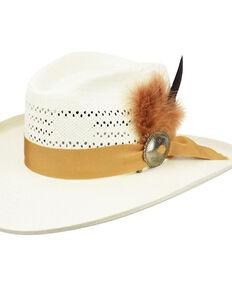 Bailey Ivory Adair Toyo Vintage Western Straw Hat , Ivory, hi-res