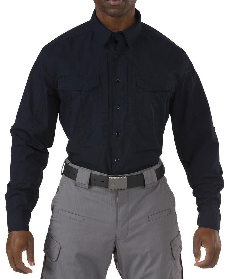 5.11 Tactical Stryke Long Sleeve Shirt, Navy, hi-res