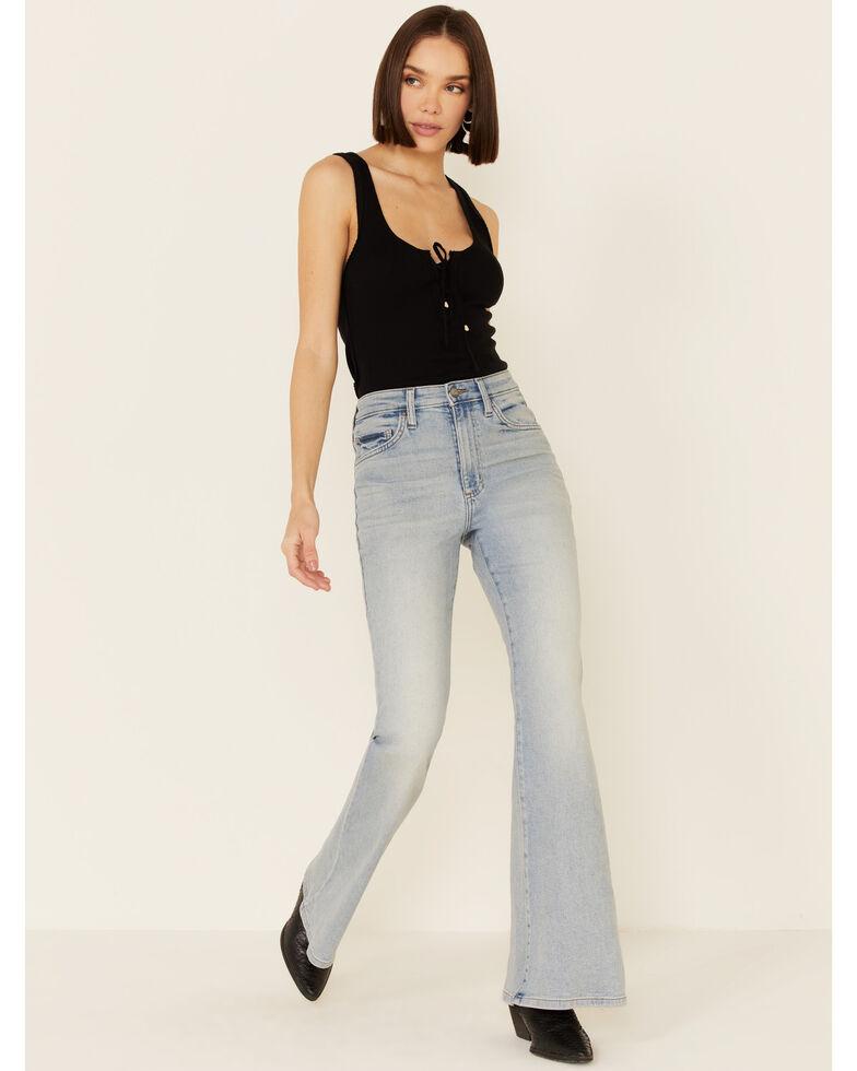 Lee Women's Alpine Flare Jeans, Blue, hi-res