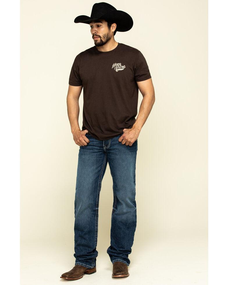 Cinch Men's Grant Dark Rigid Relaxed Bootcut Jeans , Indigo, hi-res