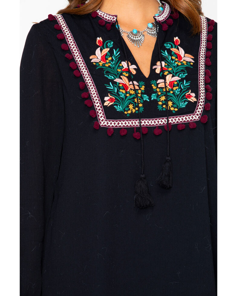 Jack By BB Dakota Women's Jack Tambourine Dream Dress , Black, hi-res