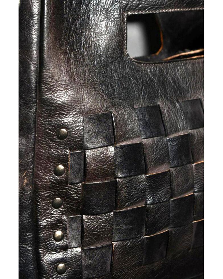 Bed Stu Women's Orchid Shoulder Bag, Black, hi-res