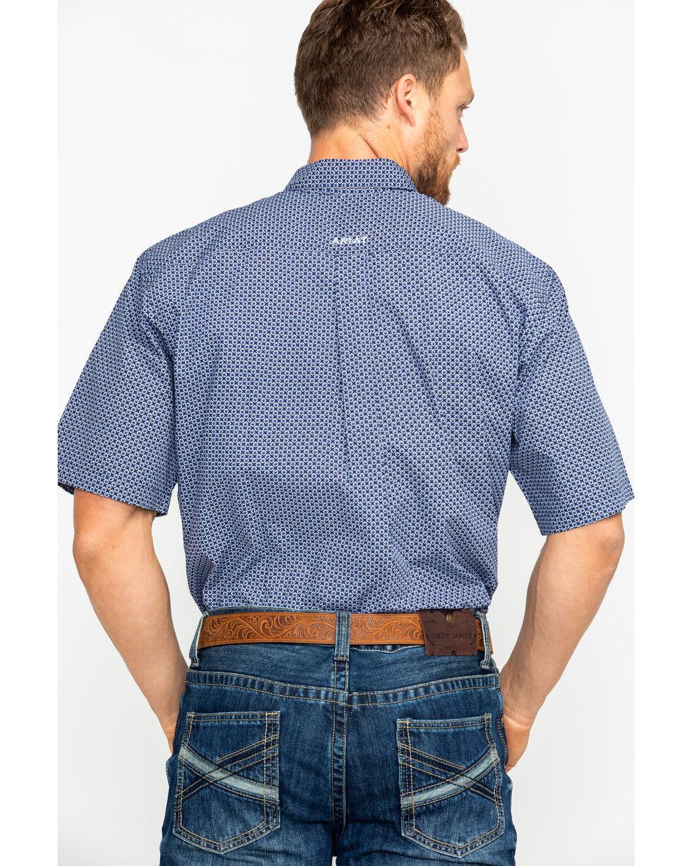 Ariat Men's Gaudry Geo Print Short Sleeve Western Shirt , Multi, hi-res