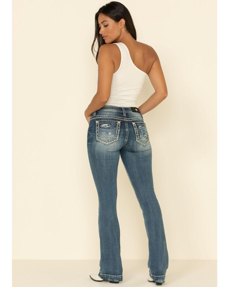 Miss Me Women's Mid-Rise Jeans, Blue, hi-res