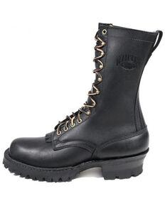 LaCrosse Men's Black Smoke Jumper Work Boots - Soft Toe, Black, hi-res