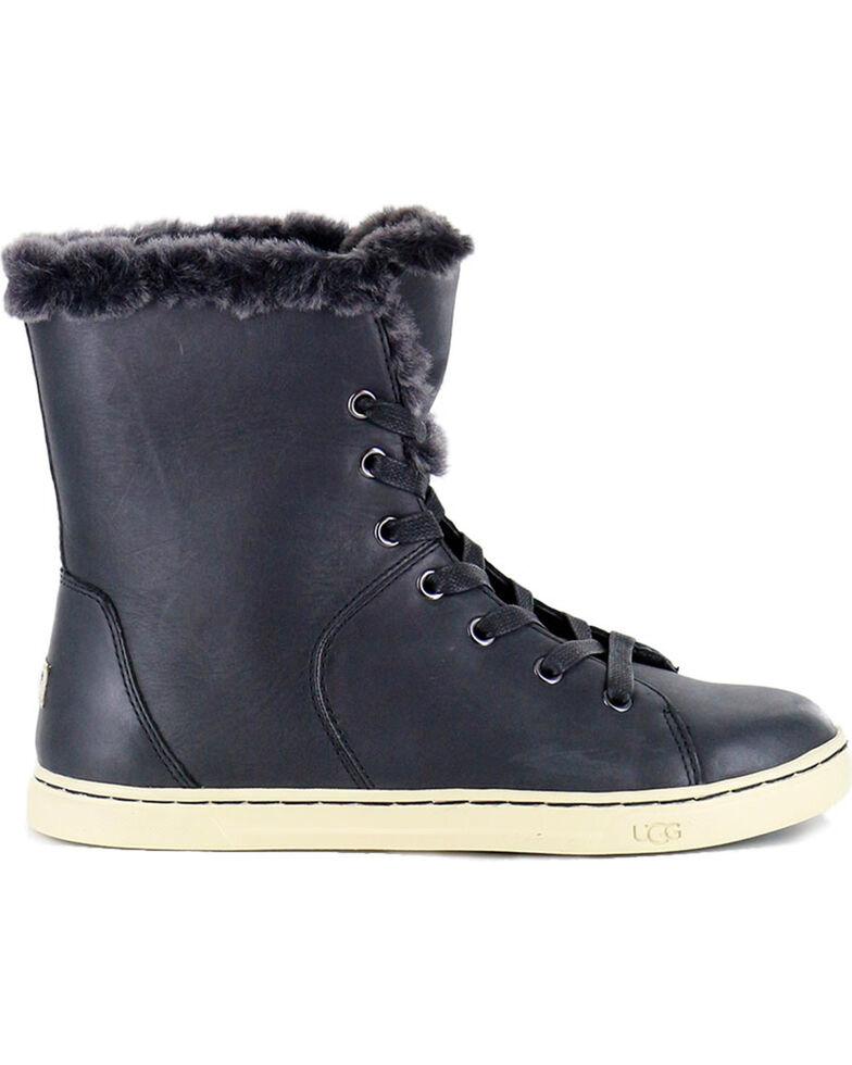 7c8667245aa UGG Women's Black Croft Luxe Quilt Shoes