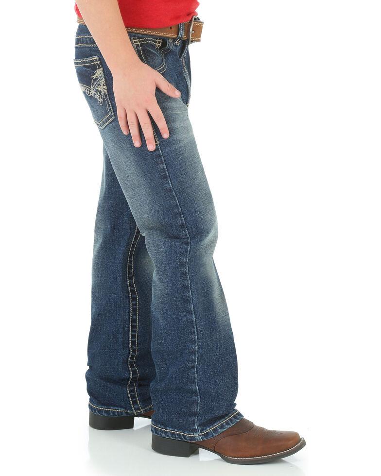 Wrangler 20X Toddler Boys' No. 42 Vintage Jeans - Boot Cut , Blue, hi-res