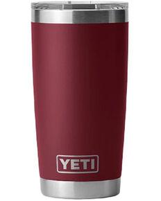 Yeti Rambler 20oz Tumbler Bottle, Red, hi-res