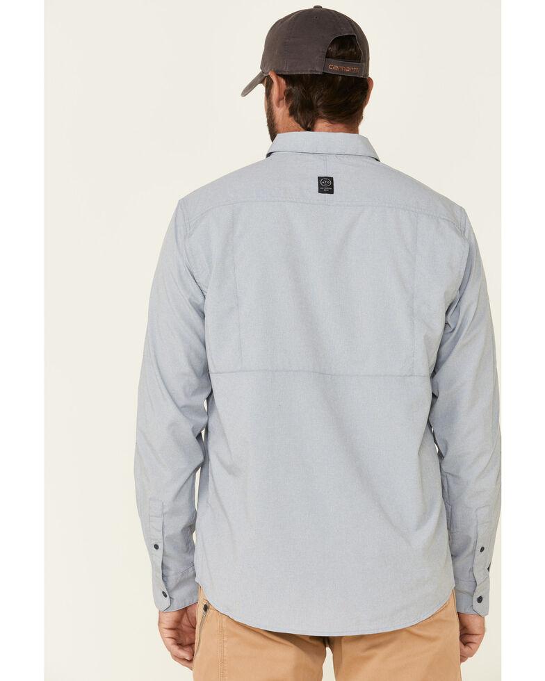 ATG™ by Wrangler Men's All-Terrain  Bering Sea Hike To Fish Long Sleeve Western Shirt , Blue, hi-res