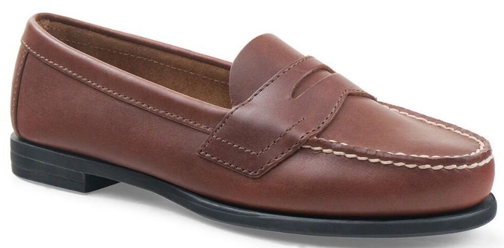 Eastland Women's Tan Classic II Penny Loafers, Tan, hi-res