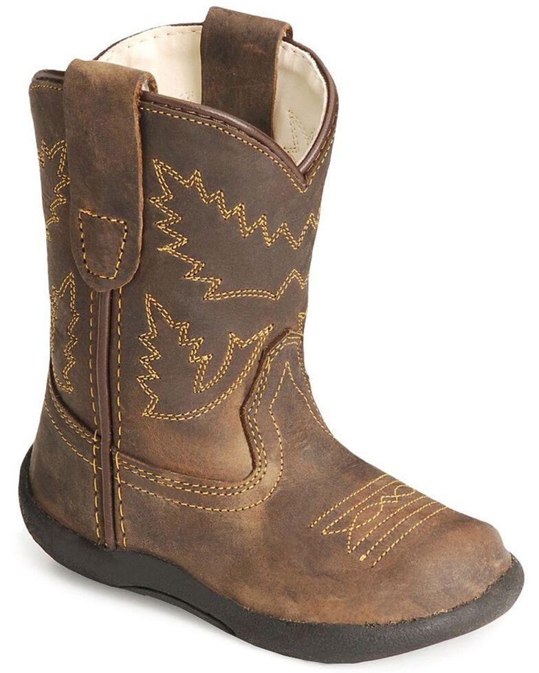Old West Toddler Boys' Crazy Horse Boots, Crazyhorse, hi-res