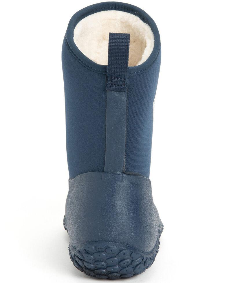 Muck Boots Women's Navy Muckster II Rubber Boots - Round Toe, Navy, hi-res