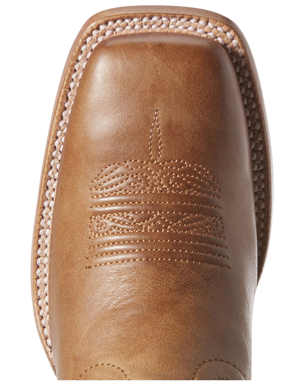 Ariat Women's VentTEK Baja Oxford Western Boots - Wide Square Toe, Tan, hi-res