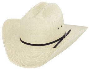 Larry Mahan Palm Straw Cowboy Hat 67c161ebe4ec