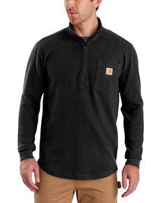Carhartt Men's Tilden Long-Sleeve Half-Zip Pullover , Black, hi-res