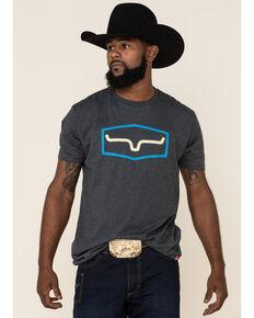 Kimes Ranch Men's Charcoal Replay Graphic T-Shirt , Charcoal, hi-res