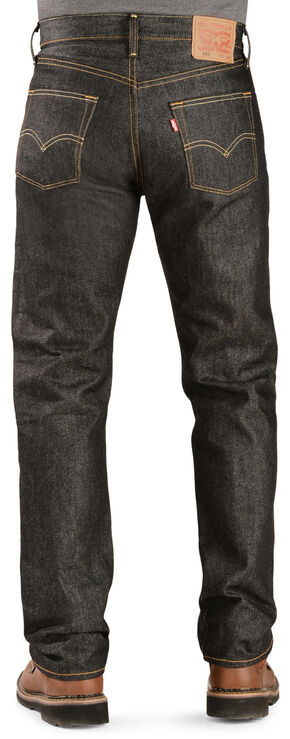 Levi's 501 Jeans - Original Shrink-to-Fit, Black, hi-res