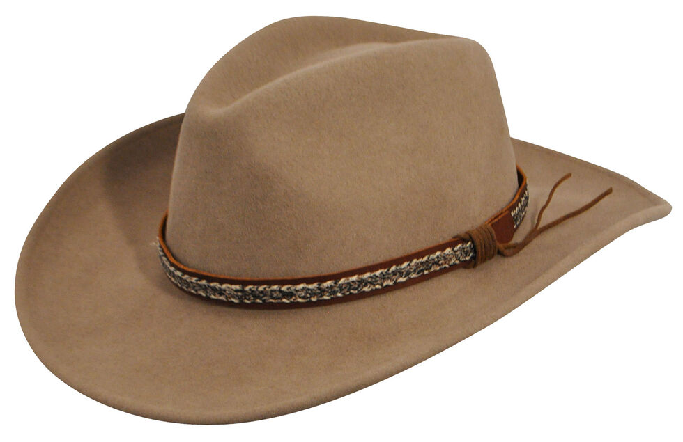3d7e4ebaa44 Wind River by Bailey Men s Nock Putty Western Hat - Country Outfitter