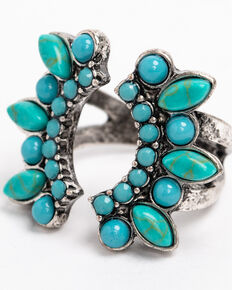 Idyllwind Women's Bluebell Turquoise Ring , Turquoise, hi-res