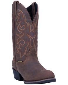 Laredo Men's Mick Western Boots - Round Toe, Tan, hi-res