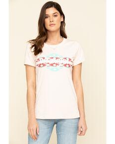 Wrangler Women's Southwest Logo Graphic Tee, Light Pink, hi-res
