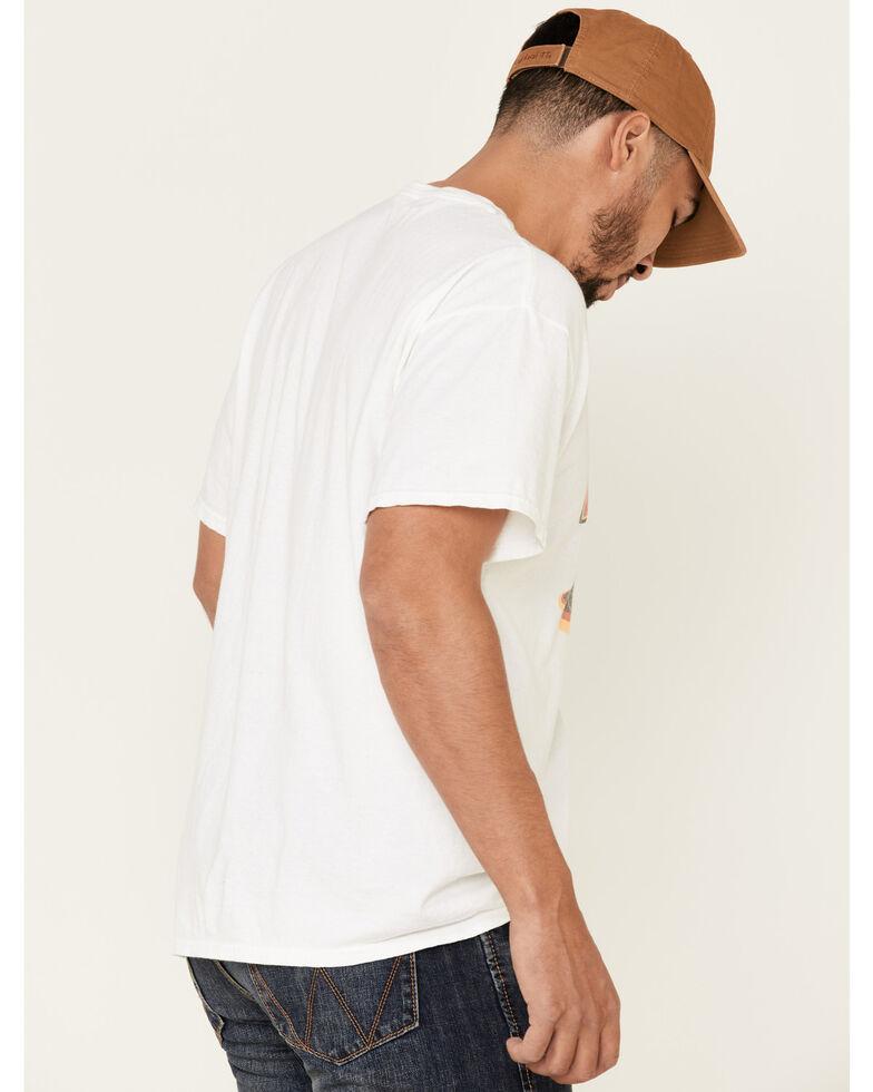 Junk Food Clothing Men's Corvette Get's It On Graphic T-Shirt , White, hi-res