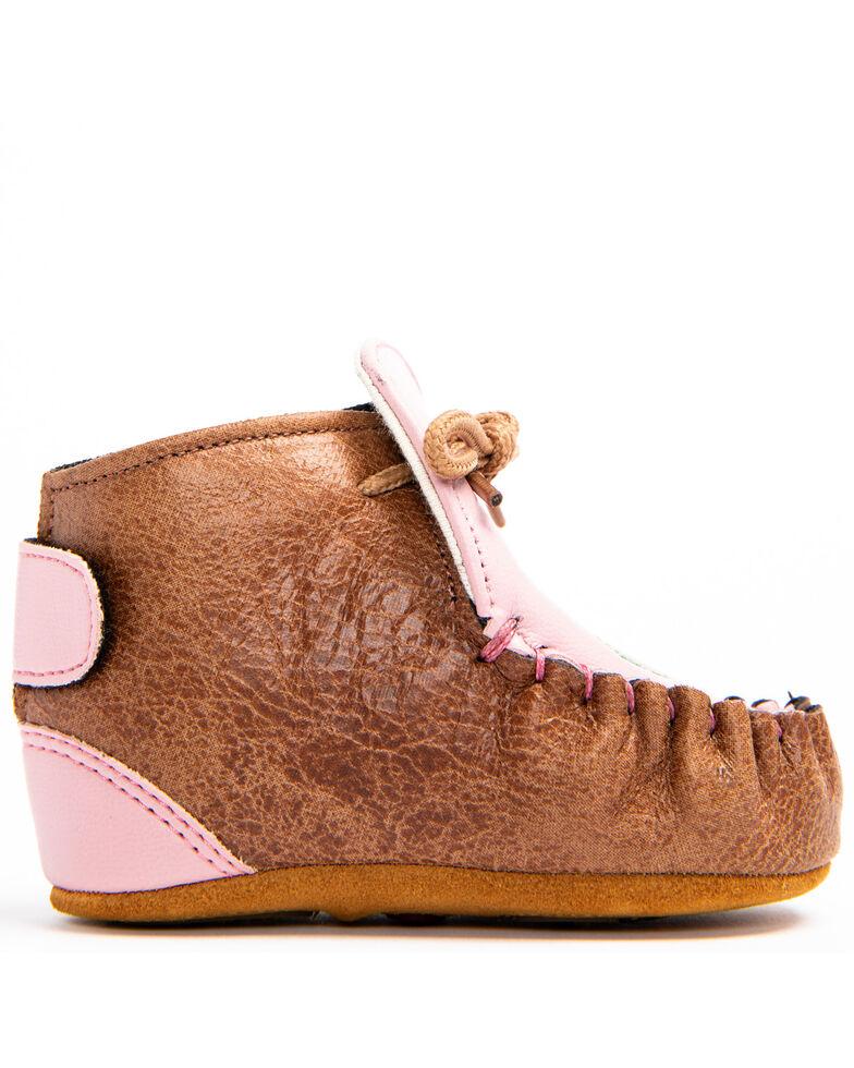 Shyanne Infant Girls' Cactus Moc Shoes - Moc Toe, Brown, hi-res