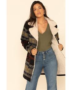 Idyllwind Women's Solstice Sherpa Jacket , Grey, hi-res