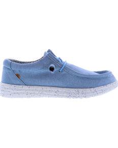 Lamo Women's Paula Breeze Casual Shoes - Moc Toe, Blue, hi-res