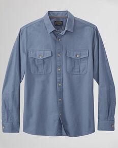 Pendleton Men's Solid Sky Blue Rogue Long Sleeve Button-Down Western Shirt , Blue, hi-res