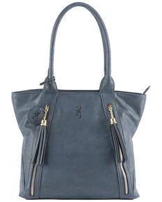 Browning Women's Alexandria Concealed Carry Handbag, Blue, hi-res