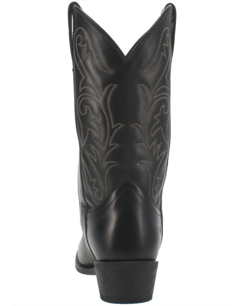 Dingo Men's Canyon Western Boots - Round Toe, Black, hi-res