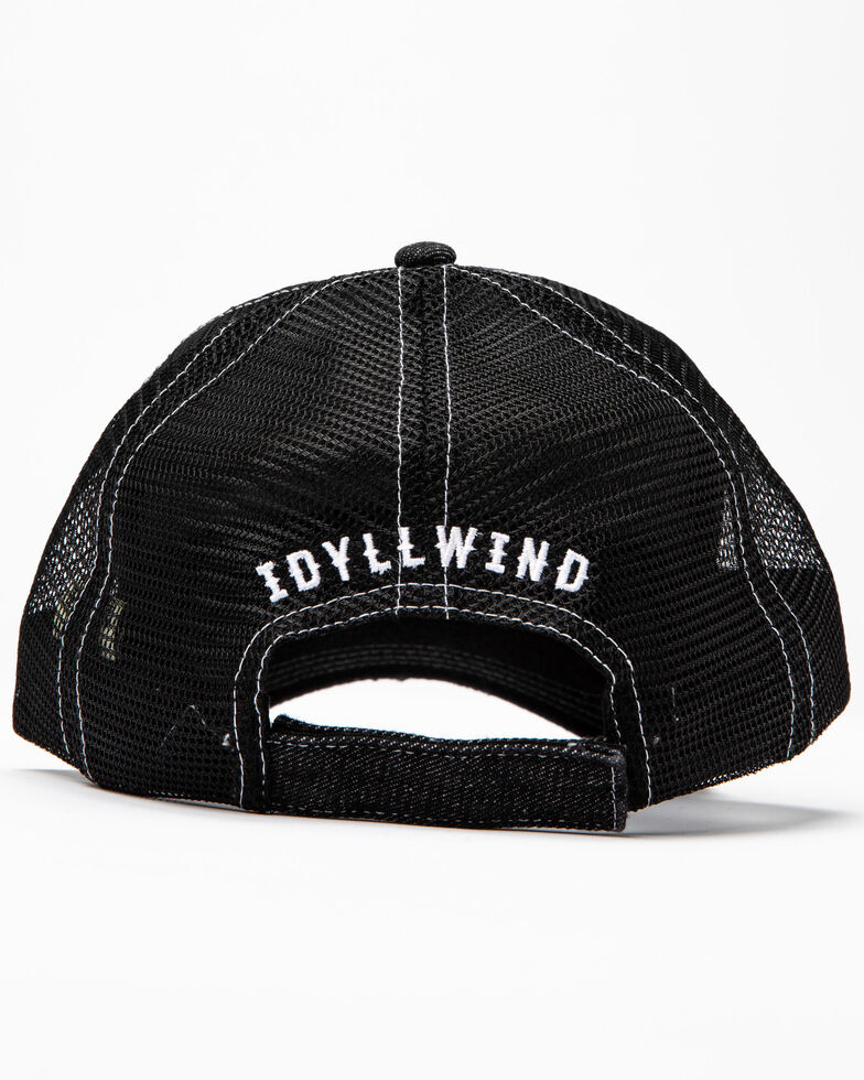 Idyllwind Women's Busy Raising Hell Ball Cap , Black, hi-res