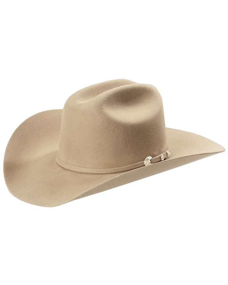 Stetson 4X Corral Buffalo Felt Cowboy Hat, Sand, hi-res