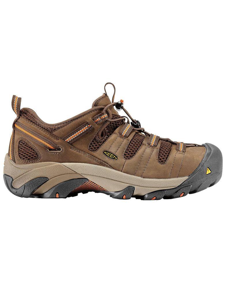 Keen Men's Utility Atlanta Cool Shoes - Steel Toe, Forest Green, hi-res