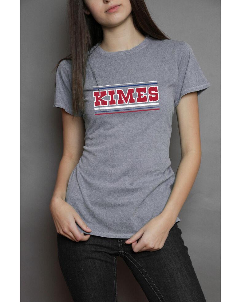 Kimes Ranch Women's Billboard Tee, Heather Grey, hi-res