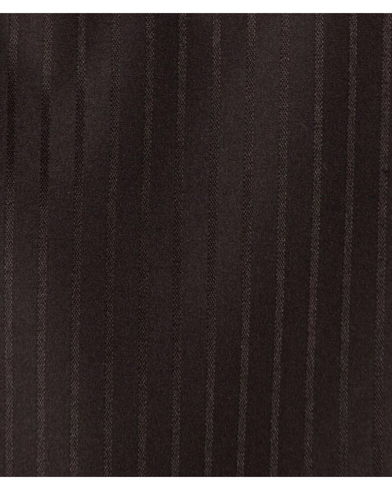 Wrangler Silver Edition Men's Long Sleeve Western Shirt , Black, hi-res